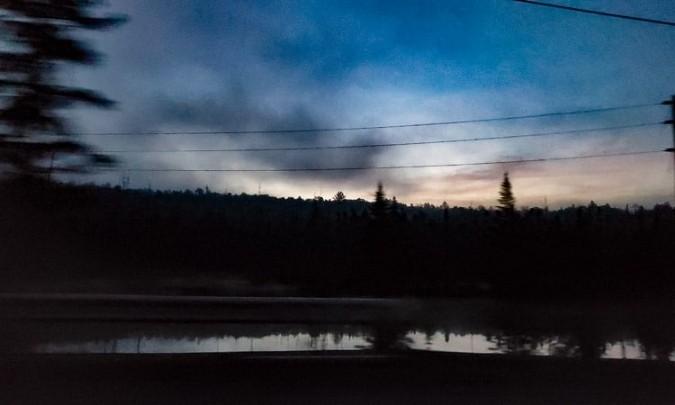 Rangeley Lake at dawn