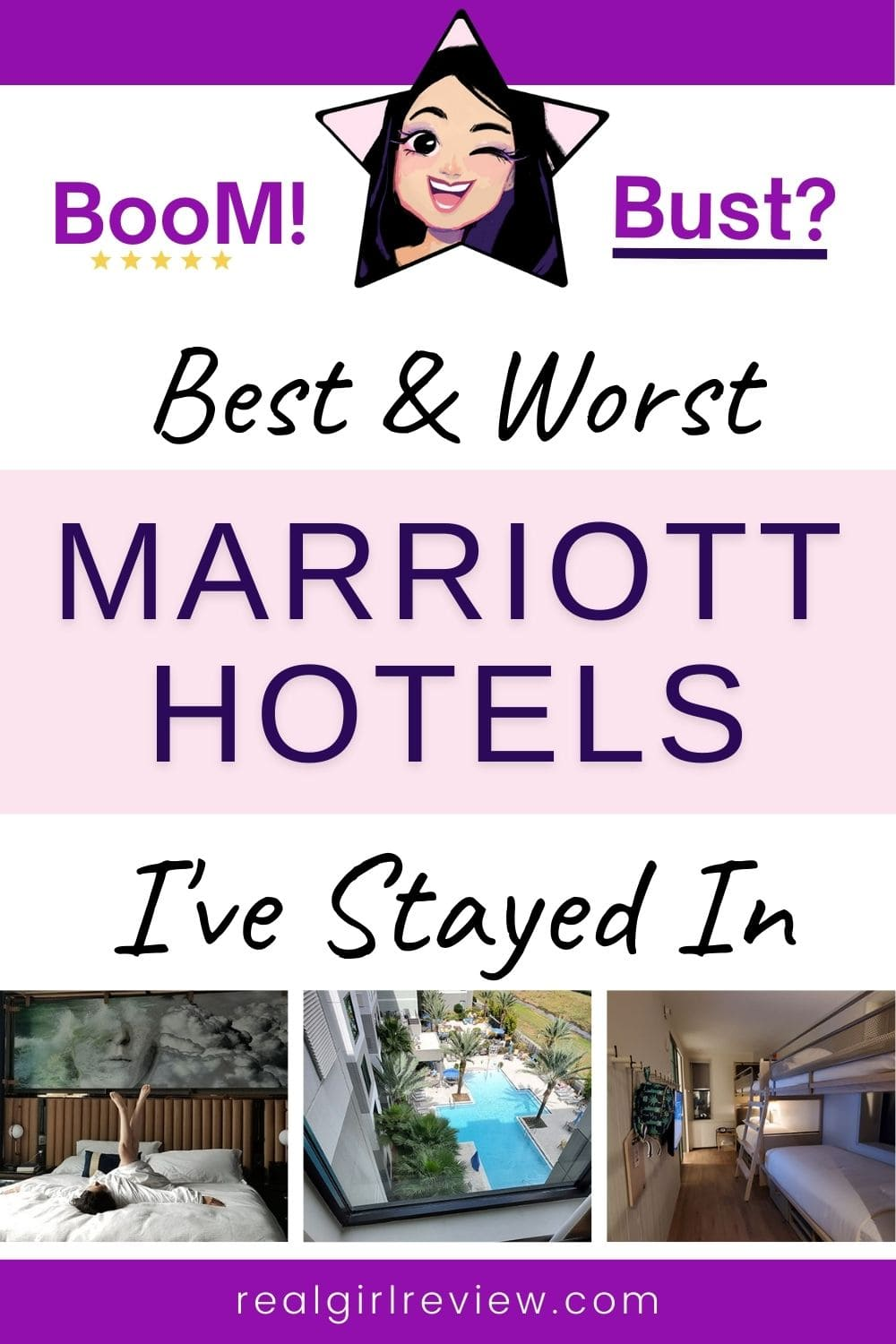 Pinterest Marketing Pin | Best and Worst Marriott Hotels I've Stayed In