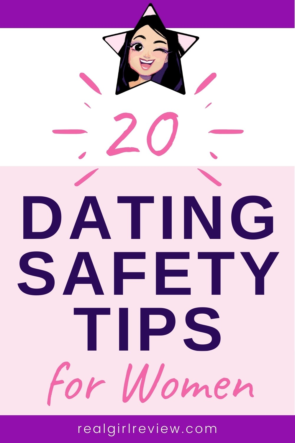 Pinterest Marketing Pin | Dating Safety Tips for Women