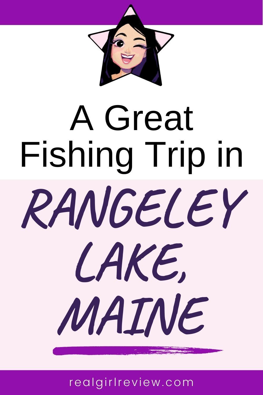 Pinterest Marketing Pin | Fishing Trip in Maine