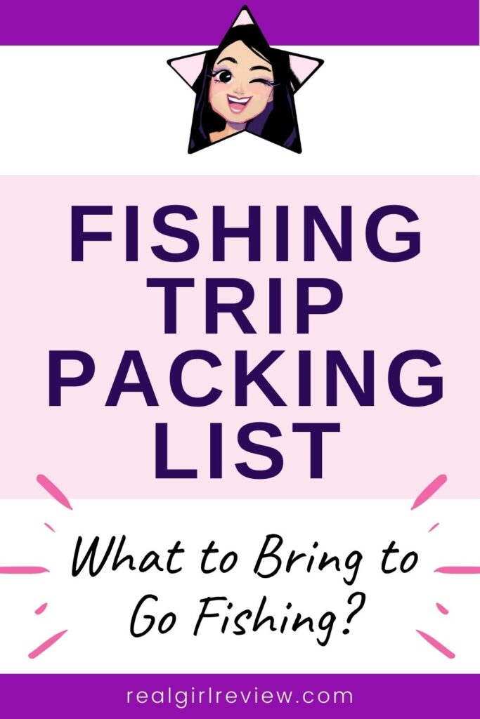 Pinterest Marketing Image | Fishing Trip Packing List