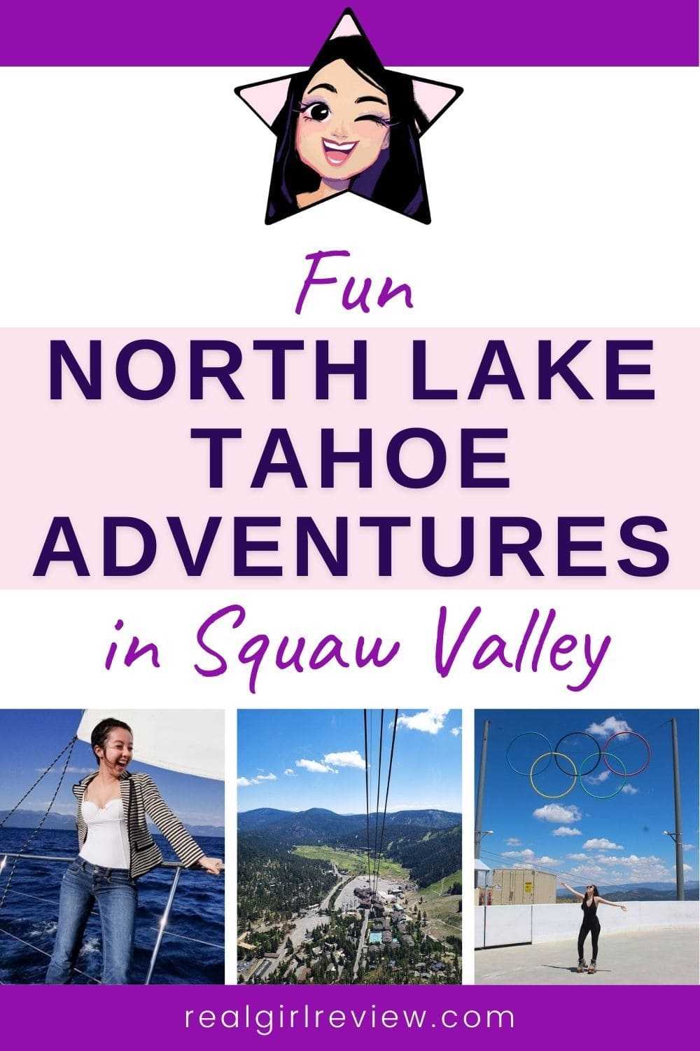 Pinterest Marketing Pin | North Lake Tahoe Adventures