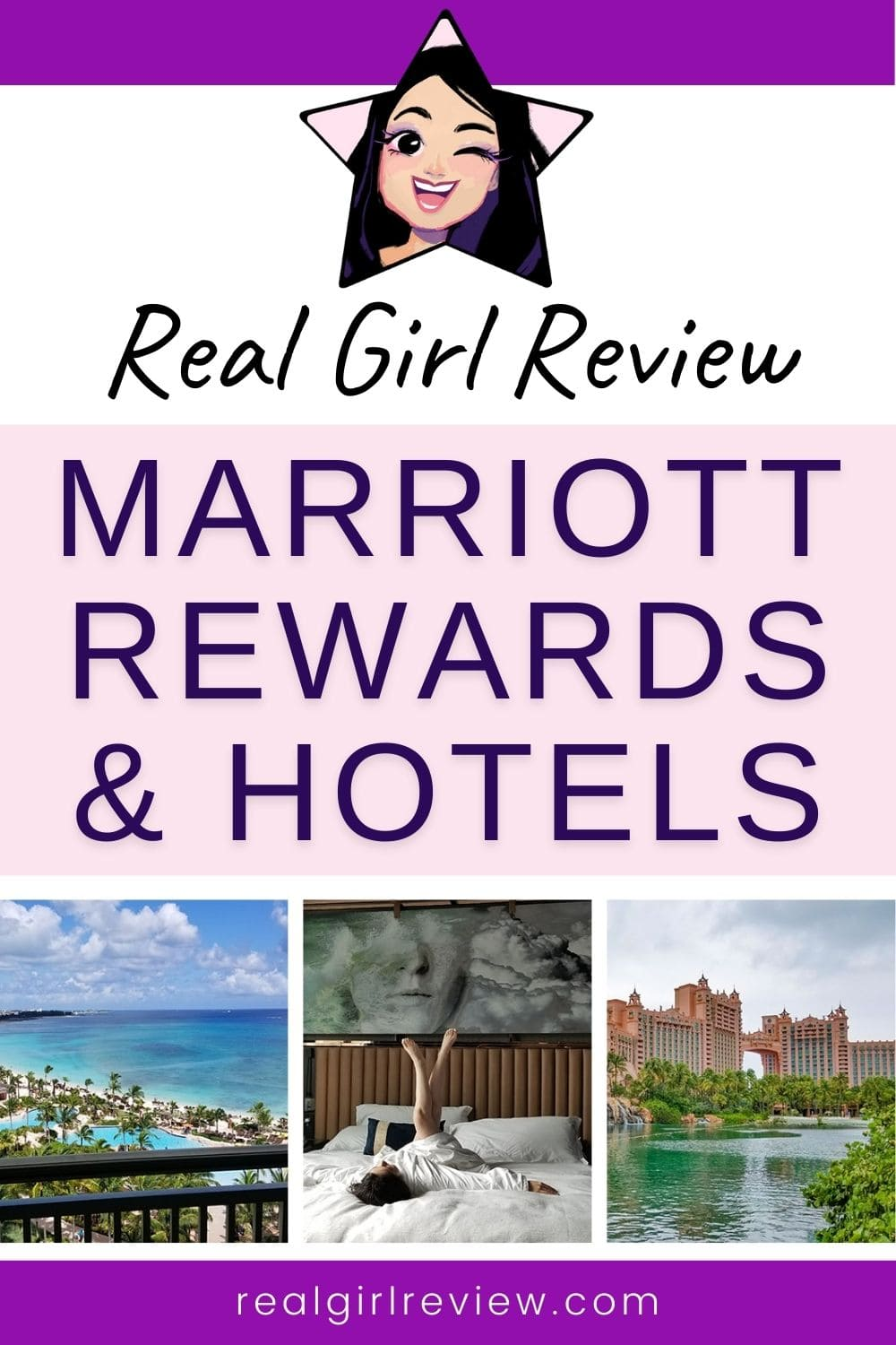 Pinterest Marketing Pin: Guide to Marriott Rewards and Hotels