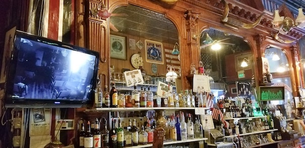 Haunted bar at silver queen hotel