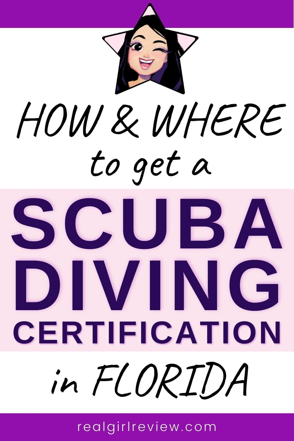 Pinterest Marketing Pin | How and Where to Get a Scuba Diving Certification in Florida