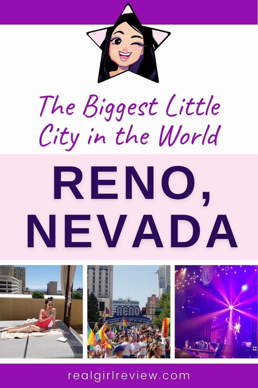 Pinterest Marketing Pin | The Biggest Little City in the World: Reno, Nevada