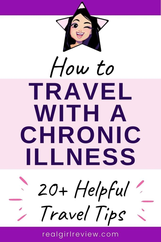 Pinterest Marketing Pin | How to Travel with a Chronic Illness