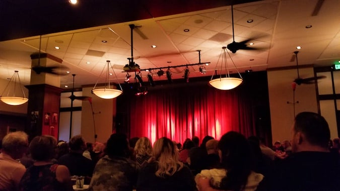 Inside wise guys comedy show