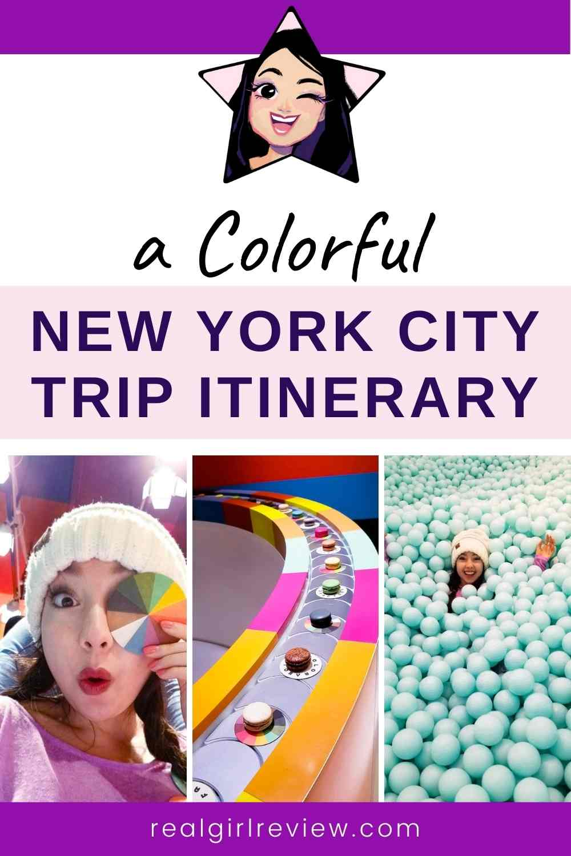 Pinterest Marketing Image | Adventure in New York City