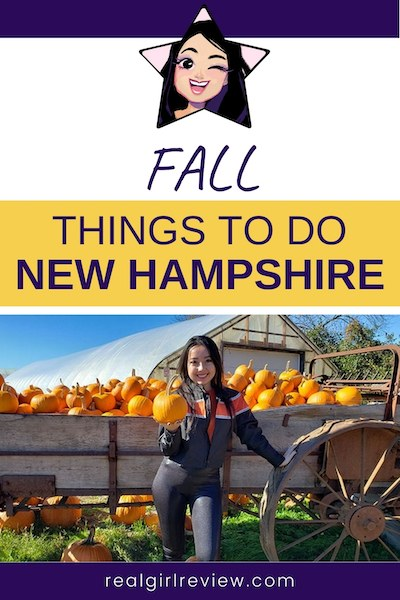 pinterest marketing image | fall in new hampshire