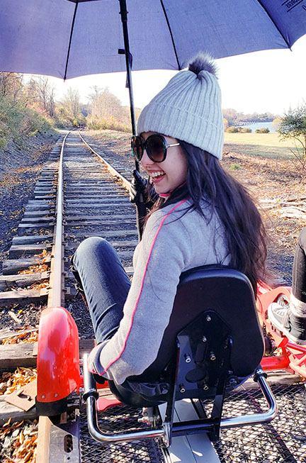 Rhode Island in the Fall | rail explorer fall activity